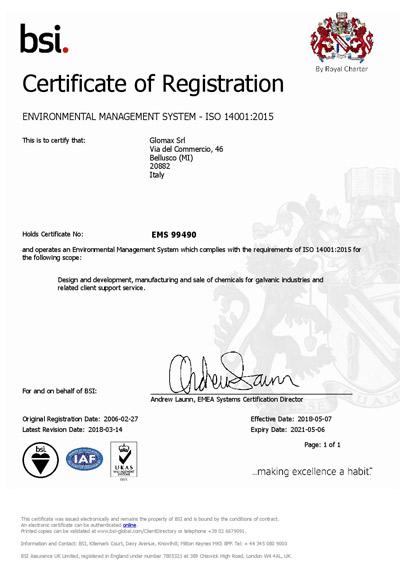 ISO-14001 glomax